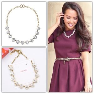 NWOT Stella & Dot Somervell Crystal Necklace
